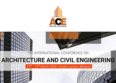 The International Conference on Architecture and Civil Engineering 2019