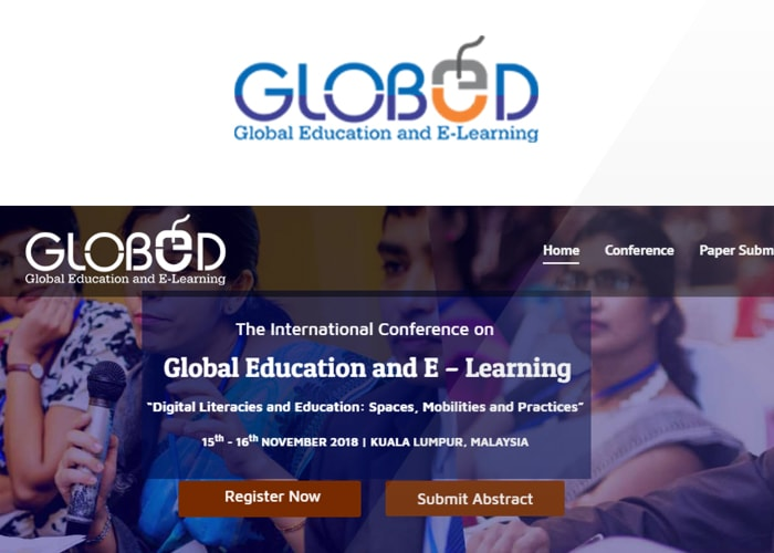The 2nd International Conference on Global Education and E -Learning