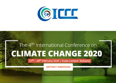 The 3rd International Conference on Climate Change 2019