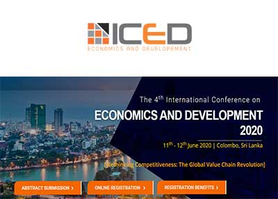 The 4th International Conference on Economics and Development 2020