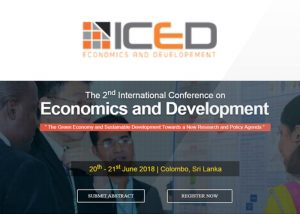 International Conference on Economics and Development