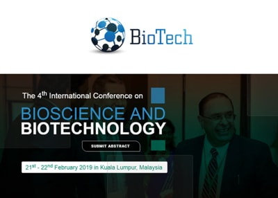 The 4th International Conference on Bioscience and Biotechnology