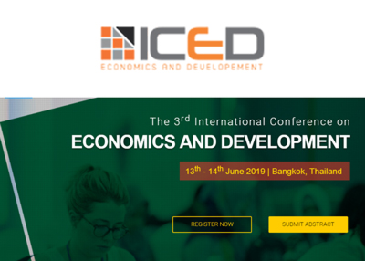 The 3rd International Conference on Economics and Development 2019
