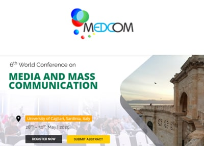 The 6th World Conference on Media and Mass Communication 2020