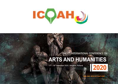 The 7th International Conference on Arts and Humanities 2020
