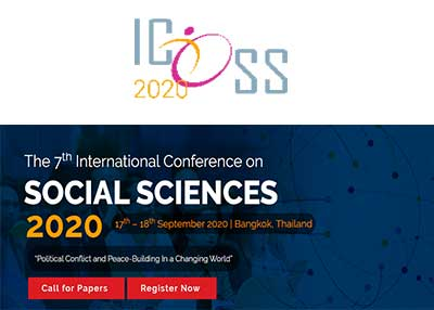 The 7th International Conference on Social Sciences 2020