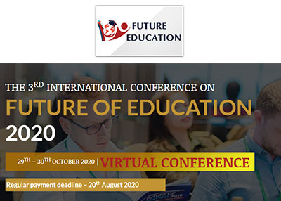 The 3rd International Conference on Future of Education 2020